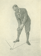 Figure 6. Stance for Iron Club