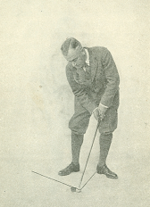 Figure 8. Stance for Chip Shots